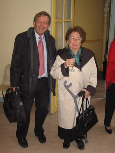 Philippe Sauvage et Marie-Claire Alain.