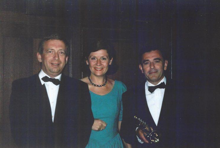Philippe Sauvage, Salvador Estellés et Claire Destremau.