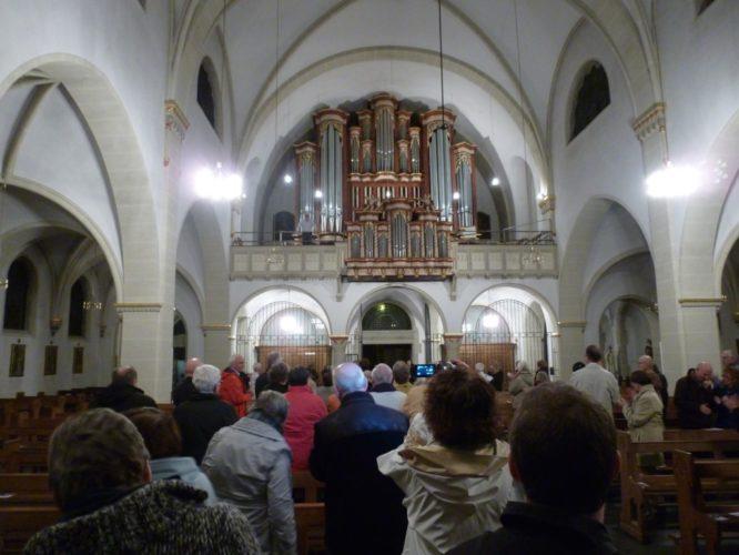 Concert à Rheda (Allemagne).